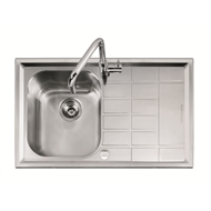 Abey Level 100 Right Hand Bowl Stainless Steel Sink