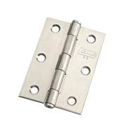 Lane Security 85mm Stainless Steel Architectural Fixed Pin Butt Hinge
