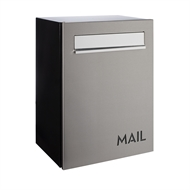 Sandleford Alberta Stainless Steel Wall Mount Letterbox