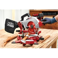 Ozito Power X Change 18V 210mm Compound Mitre Saw - Skin Only