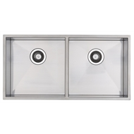 Blanco 90cm Stainless Steel Cabinet Double Bowl Sink