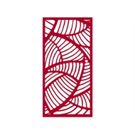 Protector Aluminium 600 x 900mm ACP Profile 20 Decorative Panel Unframed - Light Red