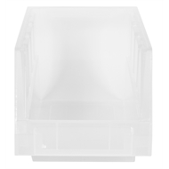 Handy Storage Size 30 Clear Plastic Tote