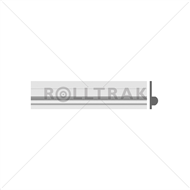 Rolltrak Spares 2.0m Replacement Aluminium Door Track