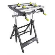 Ryobi 100kg Foldable Metal Workbench with Adjustable Angle