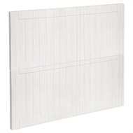 Kaboodle 900mm White Forest Country 2 Drawer Panels