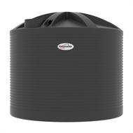 Polymaster 13700L Round Corrugated Poly Water Tank - Monument