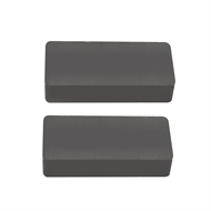 Everhang 47 x 22mm Rectangle Ceramic Magnet - 2 Pack