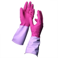 Sabco Small Antibacterial Latex Gloves - 1 Pair