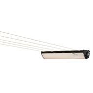 Austral RetractAway 50 Cabinet Clothesline - Colour to match Colorbond Classic Cream