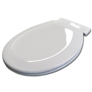 Haron White Heavy Duty Soft Close Toilet Seat With 217mm Adapter