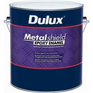 Dulux Metalshield 1l Gloss Black Topcoat Epoxy Enamel Paint