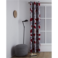 Windoware 1200 x 2230mm Blockout Eyelet Curtain Brushstroke Vibrant