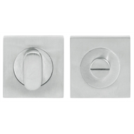Delf Architectural Satin Chrome Privacy Lever Set