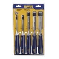 IRWIN M444 5 Piece Woodworking Chisel Set