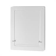 Pinnacle 245 x 205mm White Pet Door