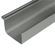 COLORBOND Steel 0.42 x 115mm x 3.0m Quad Gutter - Woodland Grey