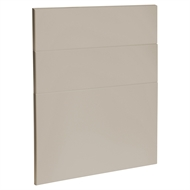 Kaboodle 600mm Shimmer Metallic Modern 3 Drawer Panels