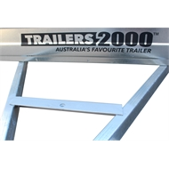 Trailers 2000 8 x 5ft Heavy Duty Galvanised Box Trailer