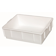 Award 13L White Storage Crate