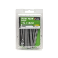 Paslode 100 x 4.5mm Bullet Head Bright Nails - 35 Pack