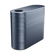 Kingspan 3500L Slim Steel Water Tank - 1150mm x 1560mm x 2400mm Deep Ocean