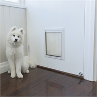 Hakuna Pets Medium Deluxe Aluminium Pet Door