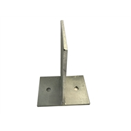 Maxi Metal 110mm Heavy Duty T Blade Post Support