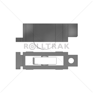 Rolltrak Adjustable Window Carriage And Flat Profile Roller