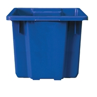 Handy Storage 70L Blue Heavy Duty Crate