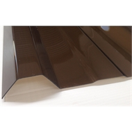 Suntuf Trimdek 3m Bronze Polycarbonate Roofing Sheet