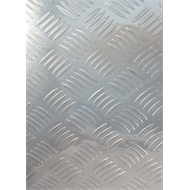 Metal Mate 600 x 450 x 2mm Aluminium Tread Plate