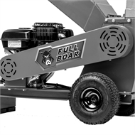 Full Boar 6.5HP Petrol Wood Chipper