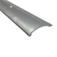 Roberts 0.825m Pewter Hammered Cover Strip Trim