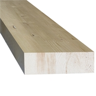 166 x 42mm GL13 Glue Laminated Treated Radiata Pine Beam - Per Linear Metre