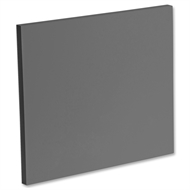 Kaboodle Smoked Grey Slimline End Panel