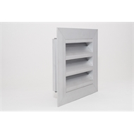 Pacific Air 100mm Aluminium Weatherproof Louvre Vent