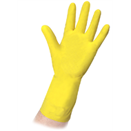 Ansell Medium Workmates Rubber Gloves - 6 Pack