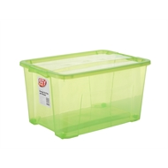 Ezy Storage 52L Green Storage Tub