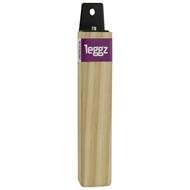 Leggz 230mm Square Plain Wooden Furniture Leg