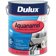 Dulux Aquanamel Low Gloss Vivid White 10L