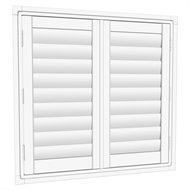 EasyAS 910 x 900mm Adjustable Plantation Shutter