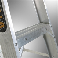 Gorilla 0.9m Single Sided Aluminium Step Ladder