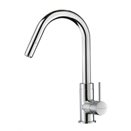 Methven WELS 4 Star 7.5L/min Culinary Gooseneck Sink Mixer With Pull Out Spray