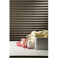 Zone Interiors 120 x 150cm 50mm PVC Long Island Venetian Blind - Stone