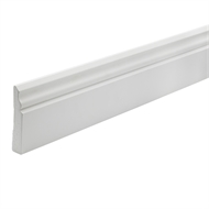 Woodhouse EdgeLine 92 x 18mm 5.4m Aust Colonial Primed Finger Jointed Pine Moulding