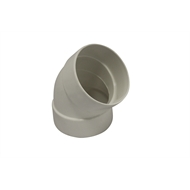 Holman 75mm 45° F-F PVC Stormwater Elbow