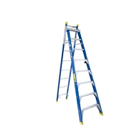 Bailey 2.4-4.1m 150kg Fibreglass Extension Step Ladder