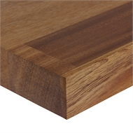 Think Timber 2405 x 600 x 32mm Modular Benchtop - Sapele