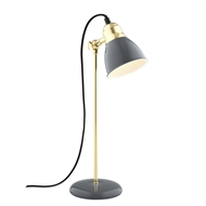 Verve Design Grey Minette Desk Lamp